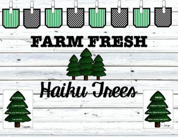 Christmas and Winter Bulletin Board: Farm Fresh Haiku ...