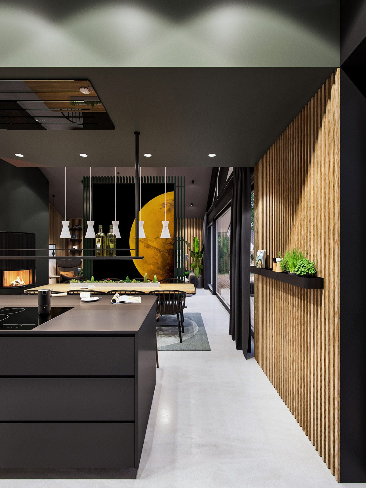 Interstellar An Out Of This World Stylish Home Interior House