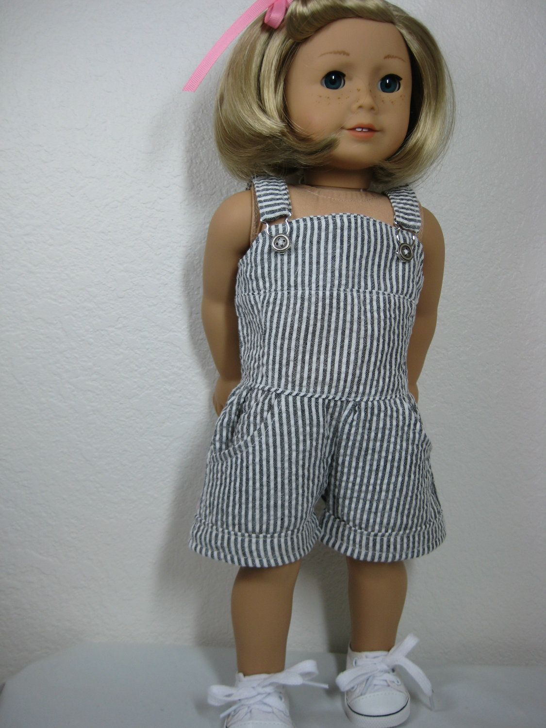 18 Inch Doll Clothes American Girl Romper. $20.00, via Etsy. | Doll ...