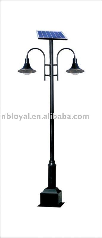Solar Outdoor Lamp Post Light Lights Posts Street