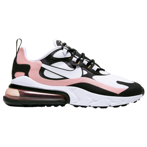 Nike Air Max 270 React Casual Running Shoes Black White