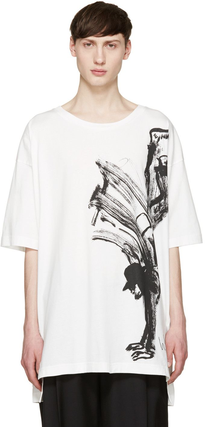 Y-3 - White Yohji Uni T-Shirt