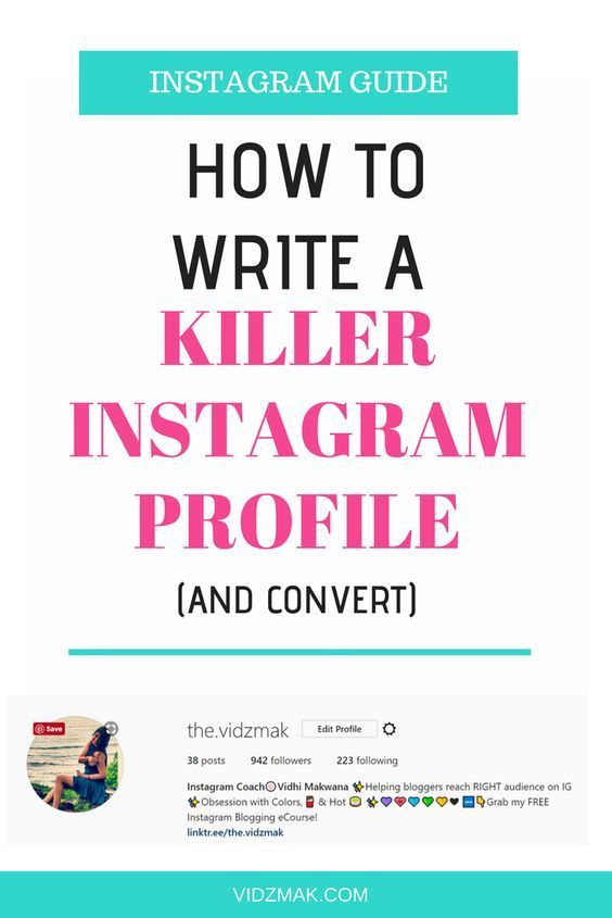 how to write a kickass instagram bio that upgrades it to