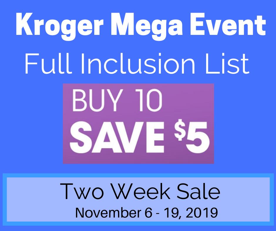 Kroger Weekly Ad Specials And Kroger Digital Coupons Kroger Krazy Kroger Grocery Store Ads Thanksgiving Essentials