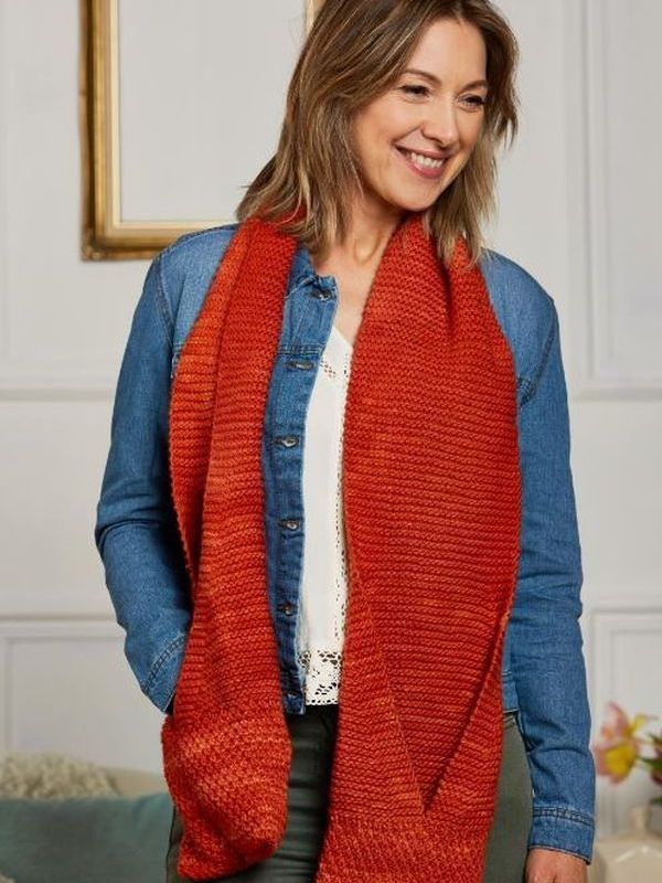 Manos Del Uruguay Manos Camote Pocket Scarf Pinterest Knitting