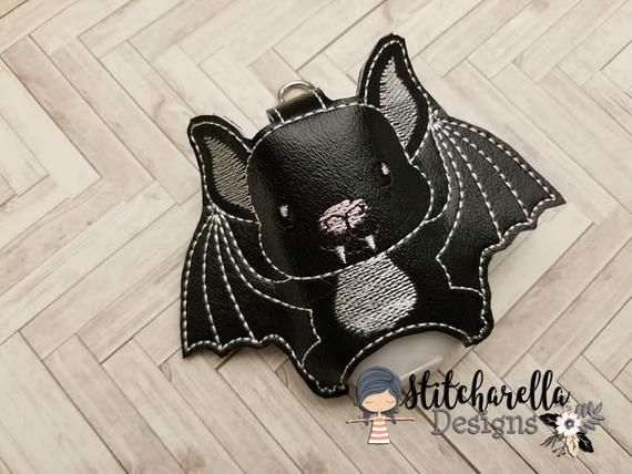 Black Bat Hand Sanitizer Holder In 2019 Products Hand
