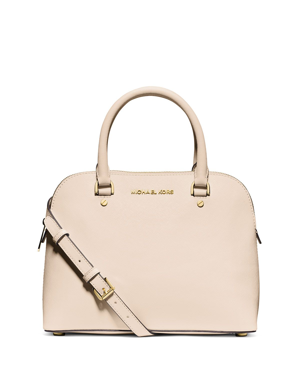 25d9fa0a8af6 usa new michael kors emmy small dome satchel pale gold glitter leather bag  crossbody fbc62 98190; get michael michael kors cindy medium dome satchel  bag ...