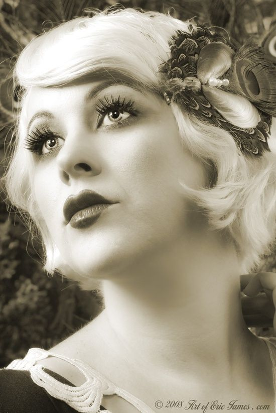 20s burlesque beauty hair