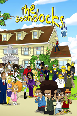 the boondocks simpsons style Cartoon wallpaper, Cartoon pics
