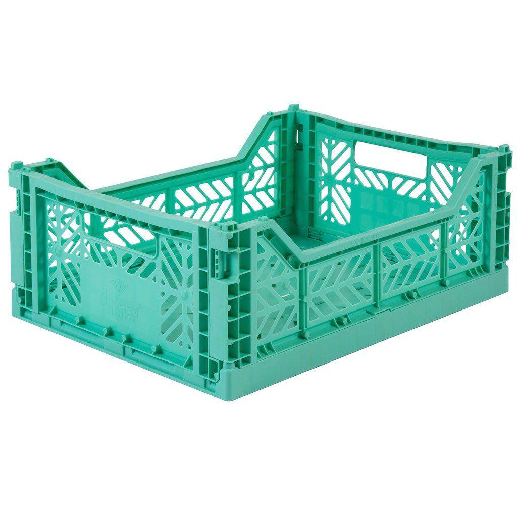 Eef Lillemor Cagette En Plastique Menthe En 2020 Cagette Cagette Plastique Panier Rangement
