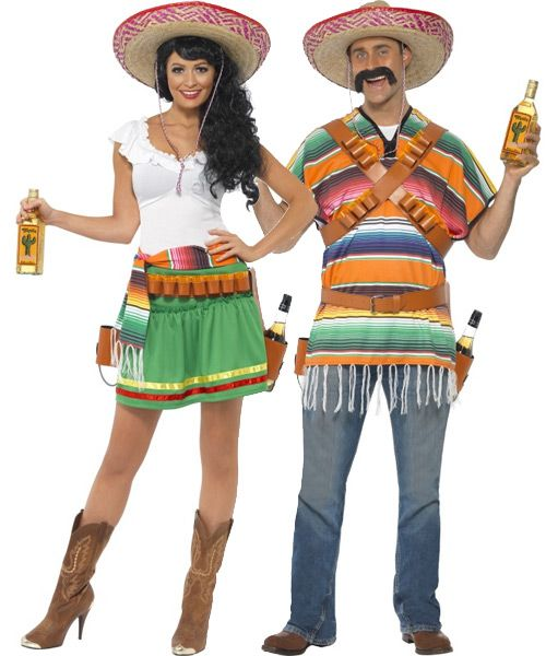couples costumes couples mexican tequila shooter costumes
