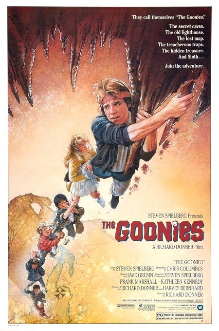 5 Ways 'The Goonies' Movie Poster Will Make You Glad You Grew Up in the 1980s - Omigods