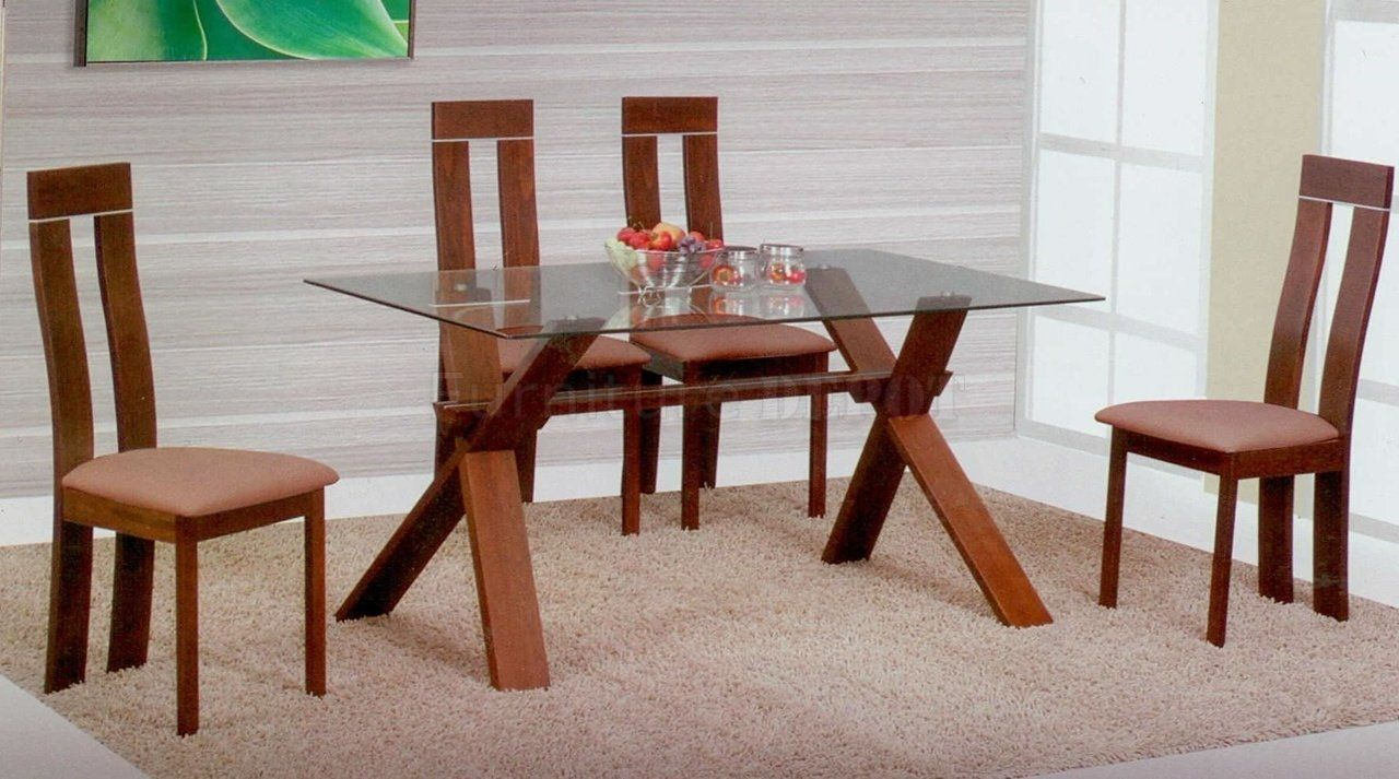Contemporary Glass Top Dining Room Tables  Httpfmufpi Interesting Glass Top Dining Room Table Decorating Design