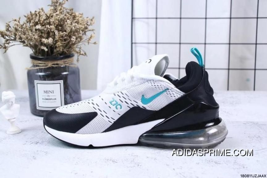 Nike Air Max 270 Flyknit Low Top Sneakers Discount White