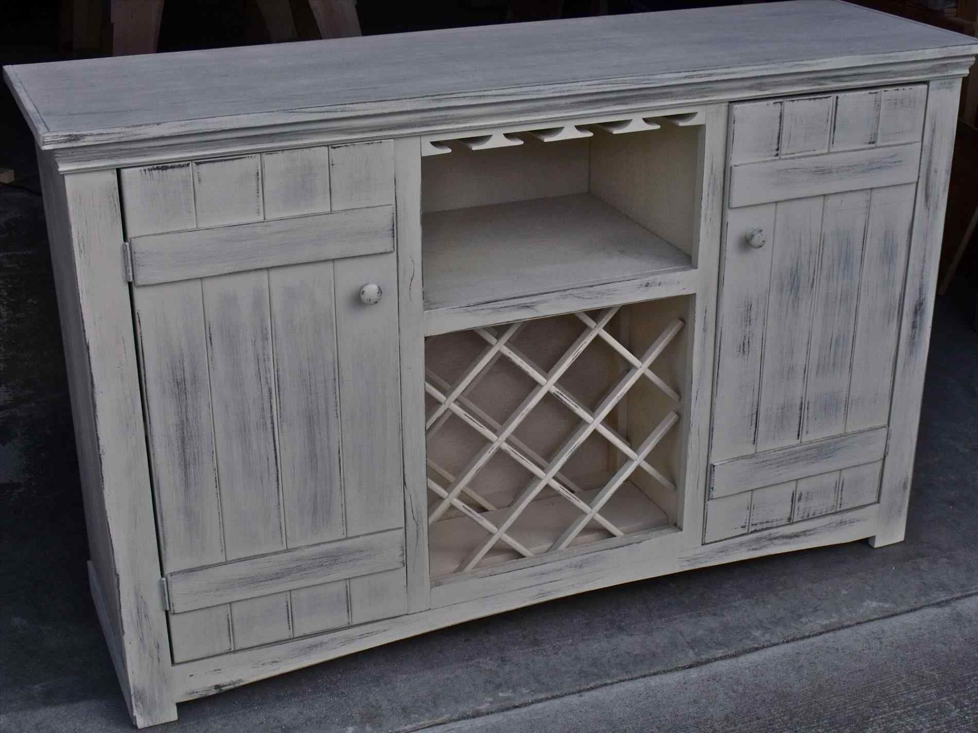 10 Top And Wonderful White Buffet Table With Wine Rack Wine