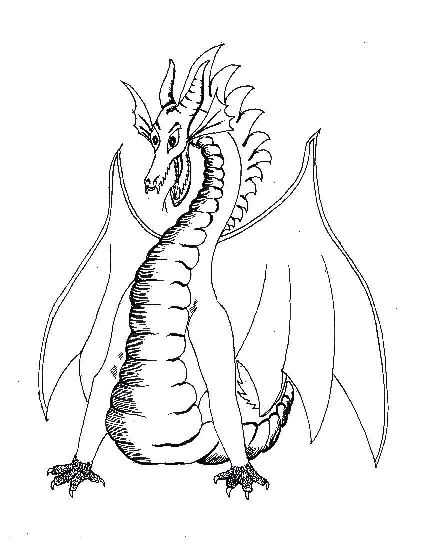 картинки драконов с крыльями рисовать палитра построена