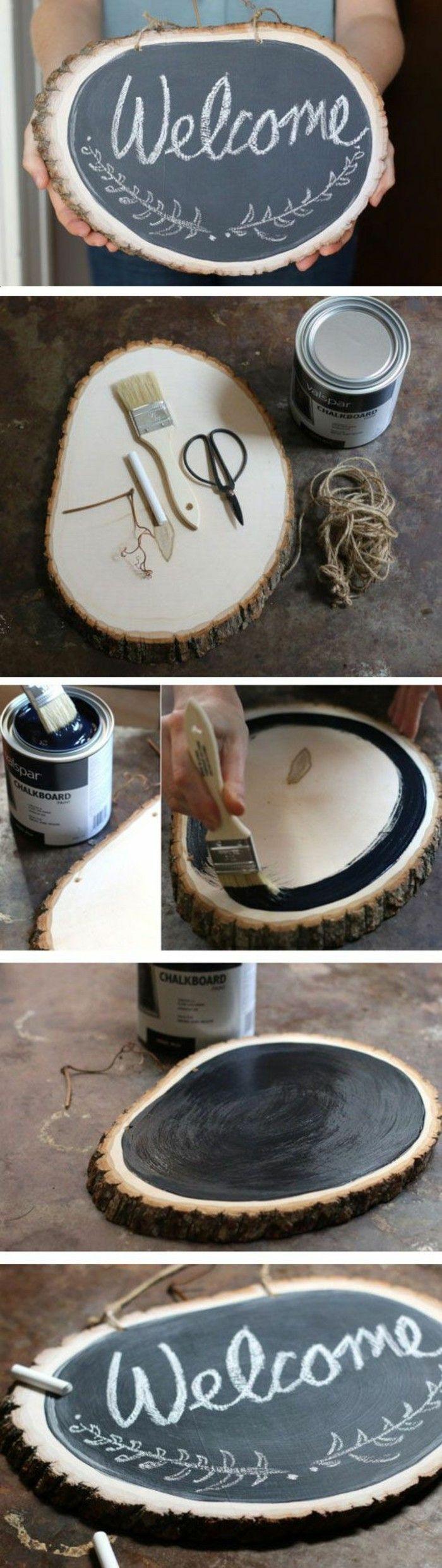 Wanddeko Selber Machen Wohnideen Selber Machen Holz Bamalen Tabelle  Willkommen