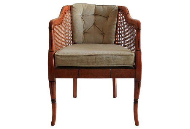 Genial Sam Moore Caned Chair