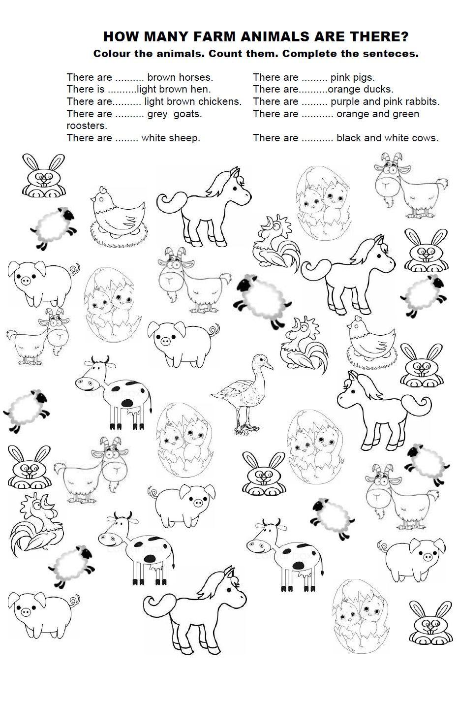 Animals Worksheet Google Sogning Ingles Para Preescolar Temas De Ingles Ingles Basico Para Ninos [ 1426 x 931 Pixel ]