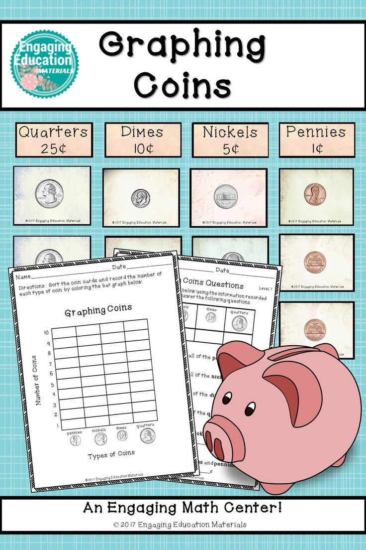 Graphing Coins | Math, Coins and Activities