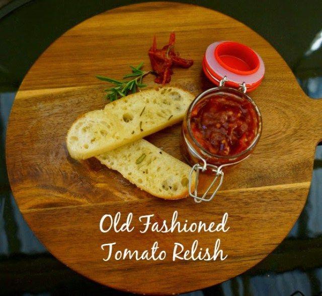 Homemade Tomato Relish