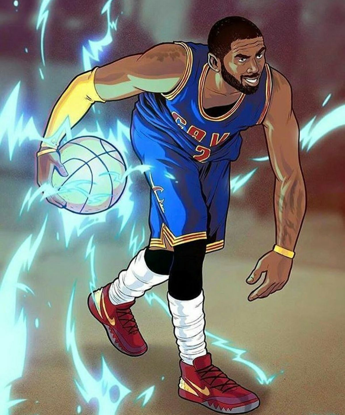 Pin By T On Kyrie Irving In 2020 Nba Art Basketball Players Nba Nba Wallpapers