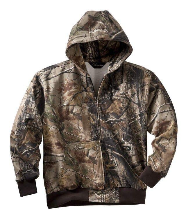 walls men s hooded zip front sweatshirt camo outfits on walls coveralls camo id=83316