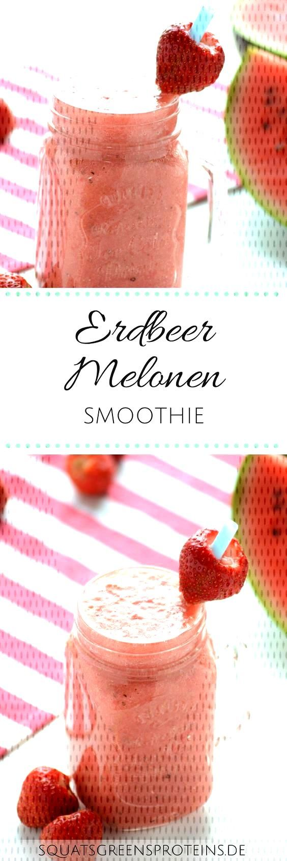 New Free Recipe: Summery Strawberry Melon Smoothie - Squats, Greens & Proteins by Melanie  Popular