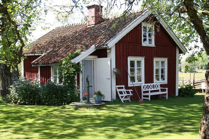 Pin von merle smith 39 auf red white - Skandinavisches gartenhaus ...
