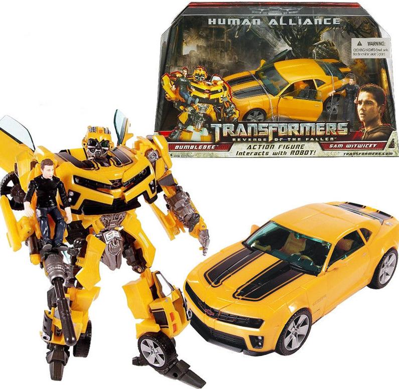 Transformer Bumblebee Action Figures Robot Cars Autobot Model Toys Kids Gift UK