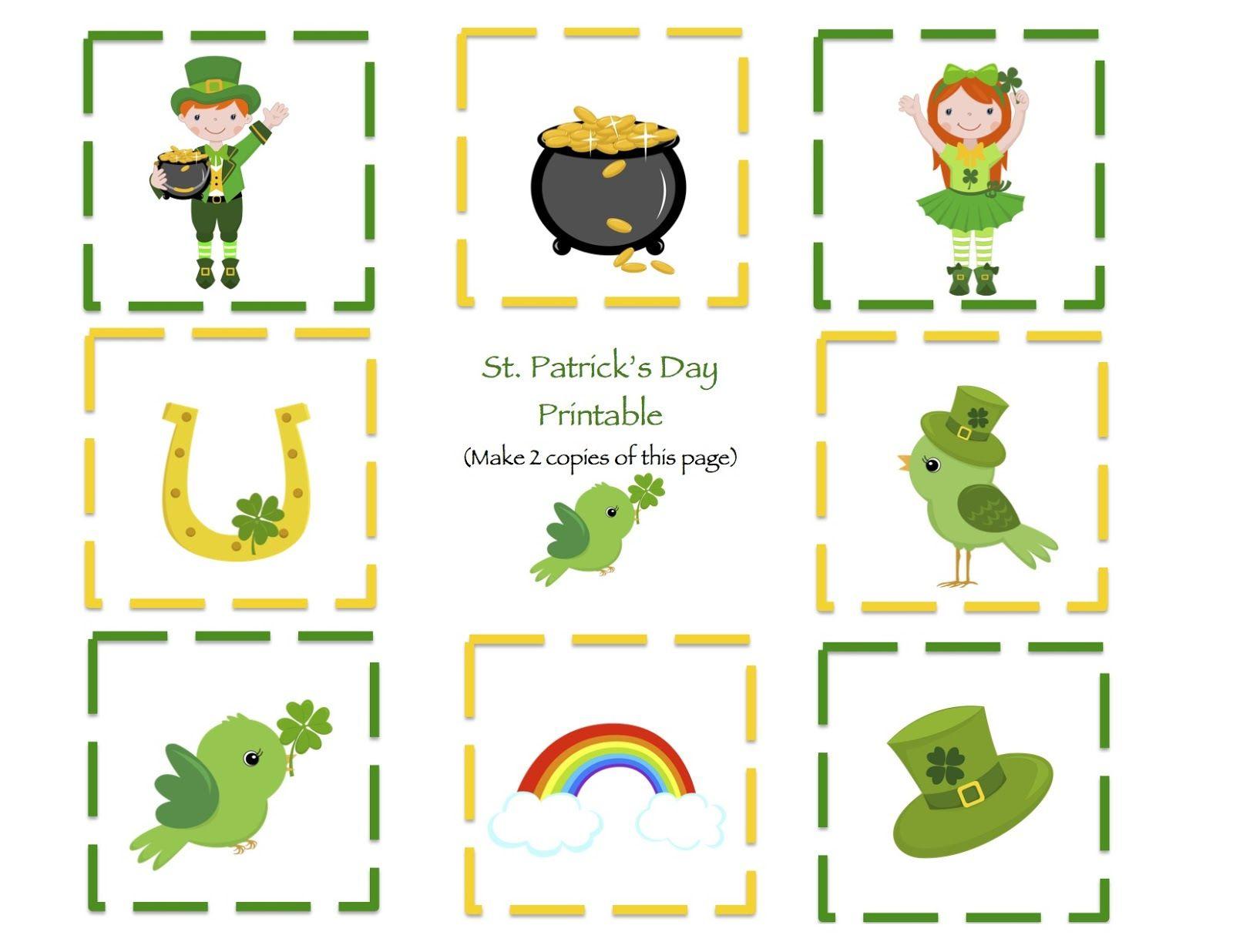 Sttrick S Day Worksheets For Kindergarten St Patricks