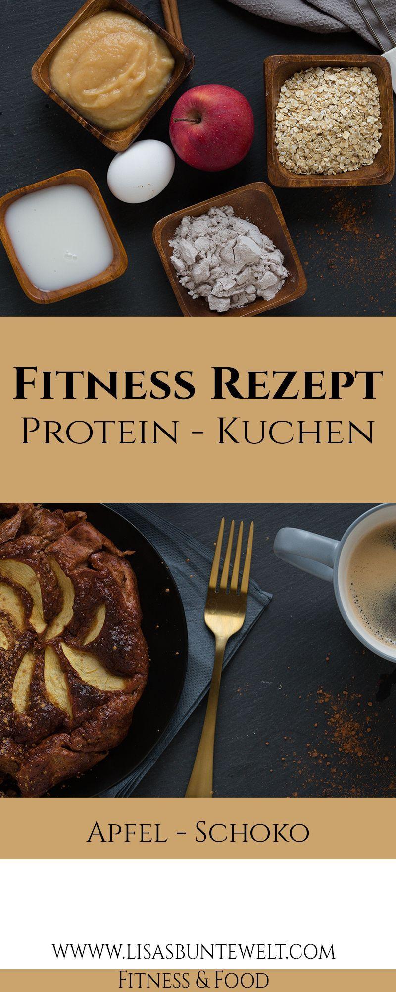 Fitness Rezept -  Auf meinem Blog findet ihr ein leckeres Rezept für Proteinkuchen. Top Werte. Schne...