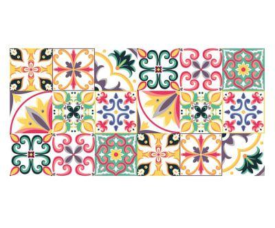 Passatoia in vinile piastrelle 100x50 cm wallet mini for Piastrelle vinile
