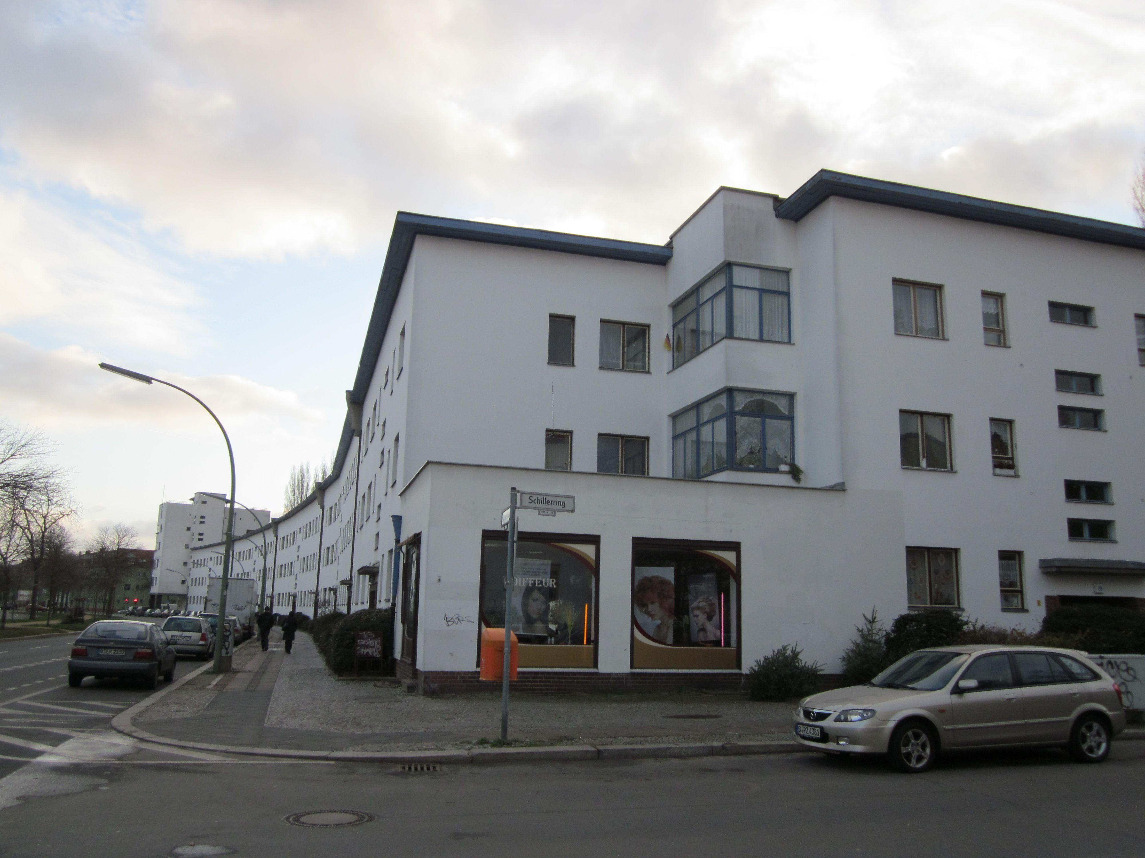weisse stadt bauhaus architecture berlin bruno ahrends wilhelm b ning und otto rudolf. Black Bedroom Furniture Sets. Home Design Ideas