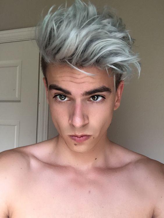 Idee coupe de cheveux mi long homme