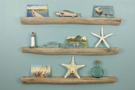 Driftwood Shelves 26quot Set Of 3 Floating Shelves