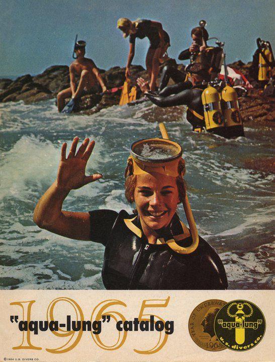 Aqualung Catalog 1965 Diving Scuba Diving Magazine Scuba Diving