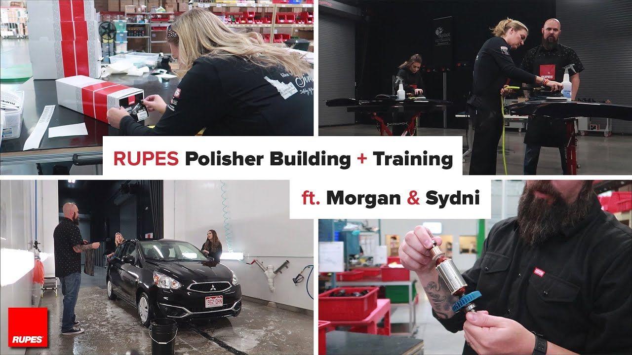 Polisher Building & Training RUPES USA w/ Dylan von