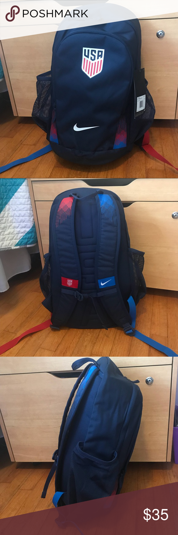 cc973f8d2315 NWT Nike USA Stadium Backpack BA5457-410 Brand New with tags No trades The  U.S.