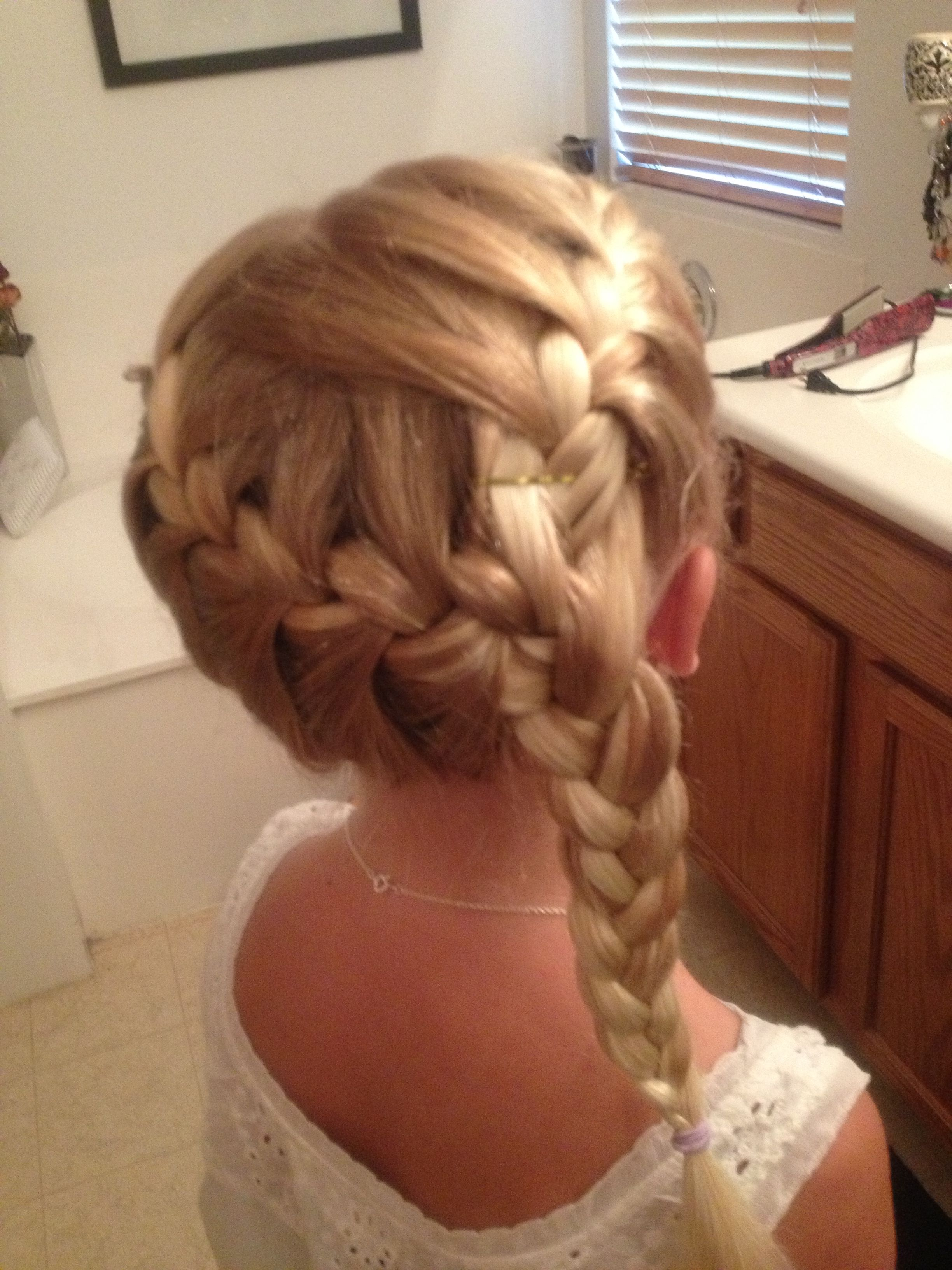 First day of school first communion hairstyles pinterest girls