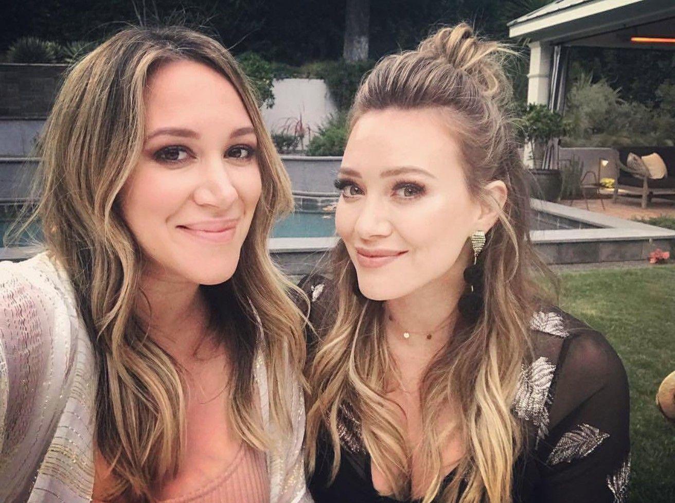 Hilary Duff And Sister Hilary Duff Hair Haylie Duff The Duff