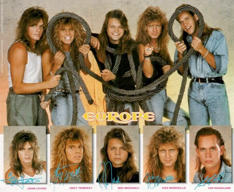 Sounds Of Europe Literally Europe Band Joey Tempest Europe
