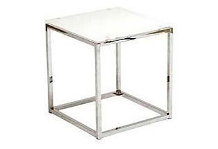Living Room Sandor Glass Side Table Side Table Glass Side Tables Modern End Tables