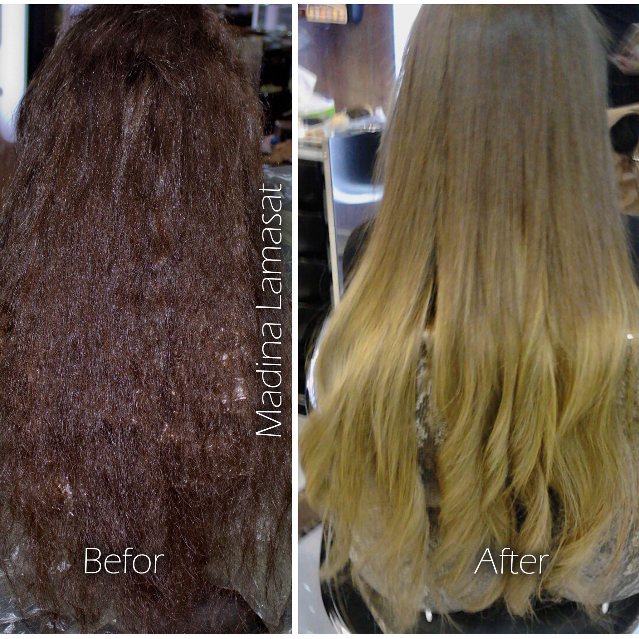 Hair Coloration By Madina Saleh Lamasat Beauty Center المختصة مدينة صالح اومبري لمسات جدة فرع الخالدية لمسات بيوتي سنت Hair Styles Long Hair Styles Beauty