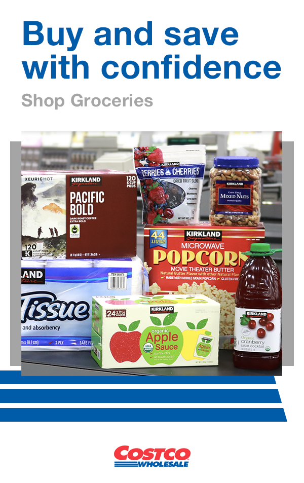 Costco Members Shop Costco Grocery And Receive 2 Day Delivery On Non Perishable Food And Household Supplies Del Grocery Costco Delivery Grocery Home Delivery