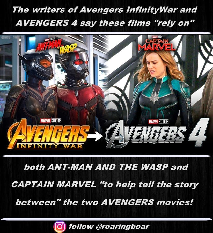 The Writers Of Avengers Infinitywar And Avengers 4 Say These Films
