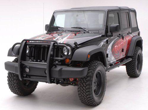 Black Grille Guard Jeep Jeep Wrangler Accessories Jeep