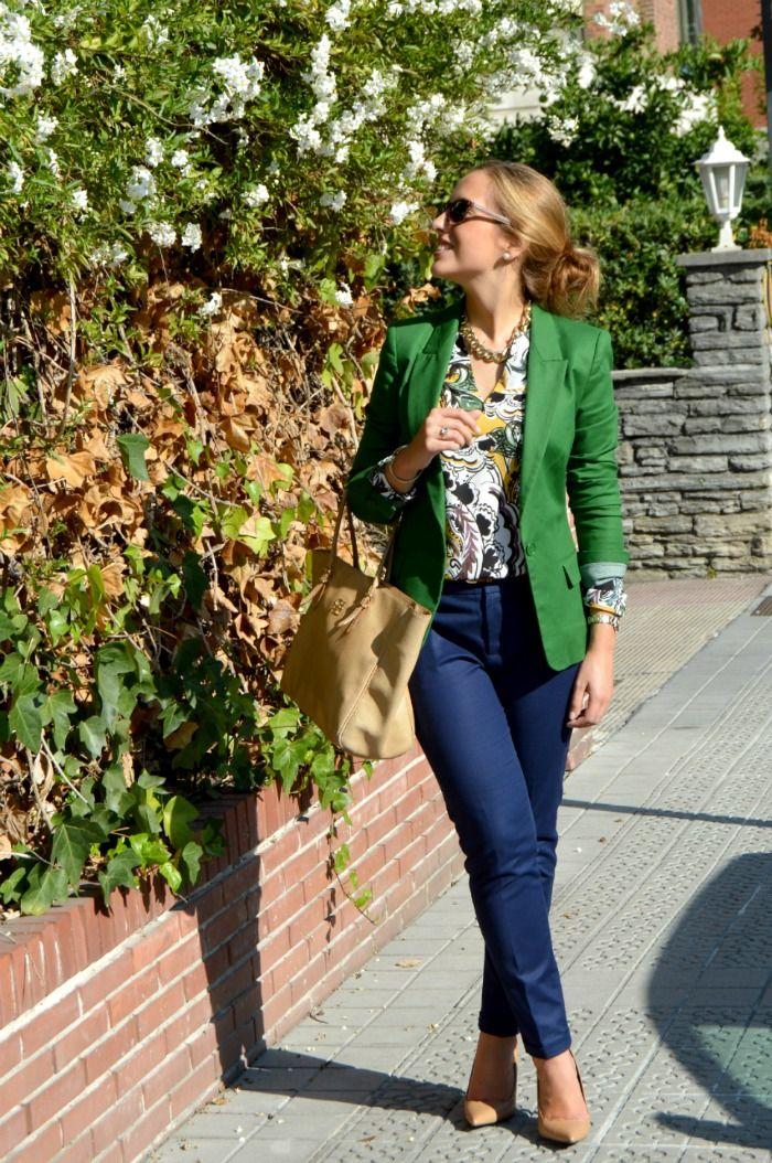 Saco||verde||combinación | love greenn en 2019 | Chaqueta