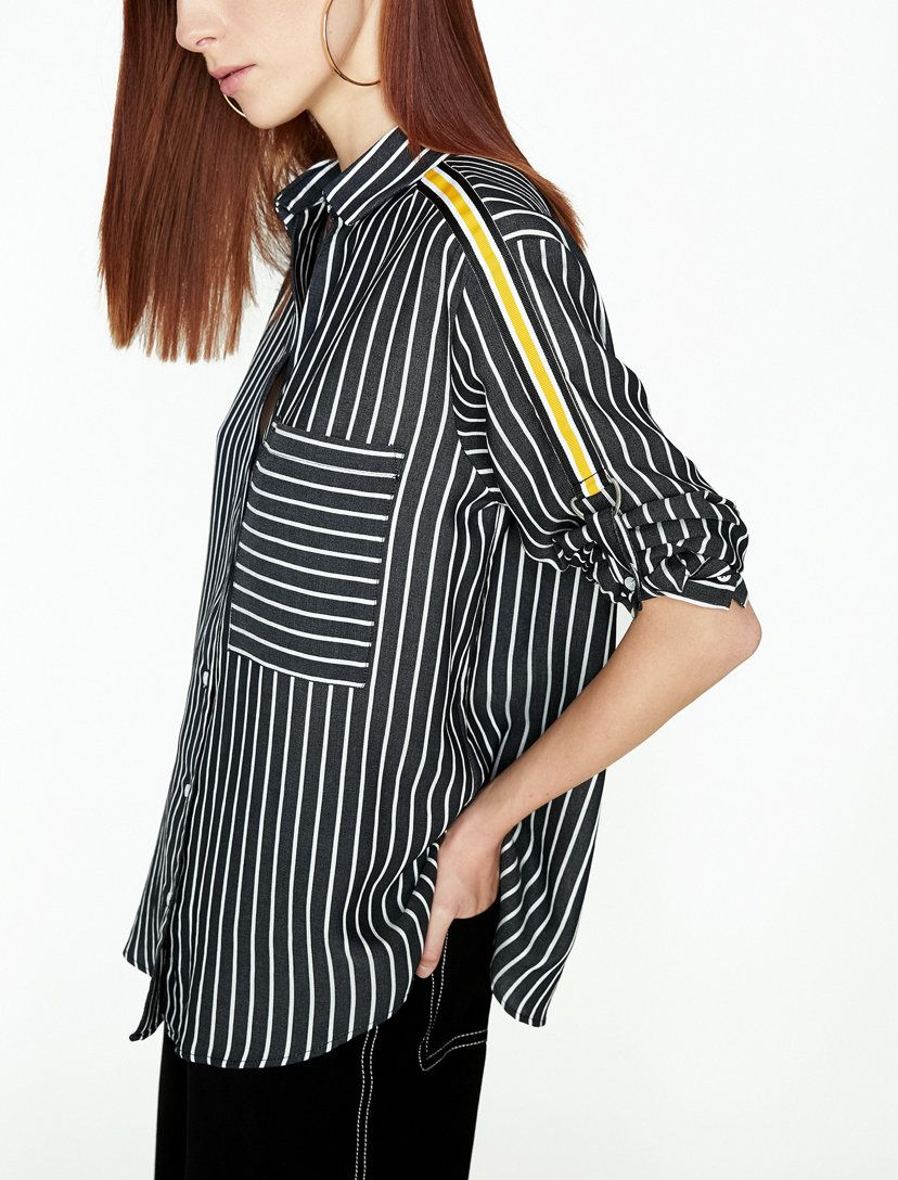 Cizgili Gomlek Cizgili Gomlek Moda Stilleri Gomlek Elbise