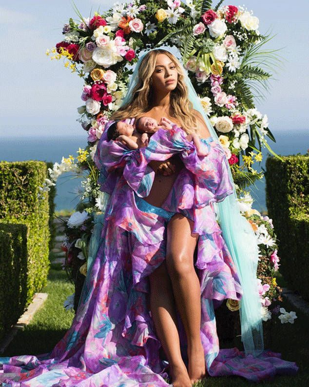 Beyoncé Revealed the Twins and the Internet Lost Its Mind